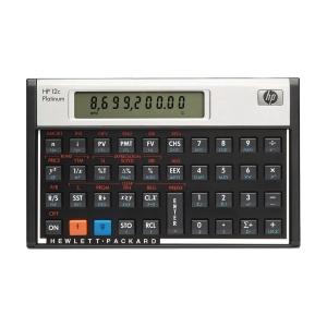HP 12C platinum financiële rekenmachine, 10 cijfers