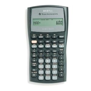 TI BA-II+ rekenmachine financiëel - 10 cijfers