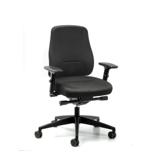 Younico Pro 2406 chair with synchrone mechanism black