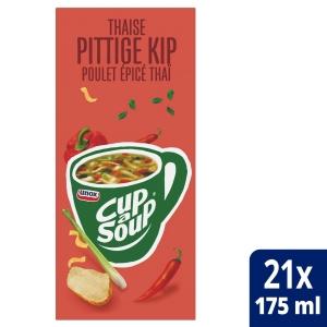 Cup-a-soup zakjes soep Thaise kip - doos van 21