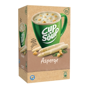 Cup-a-Soup aspergesoep, doos van 21 zakjes
