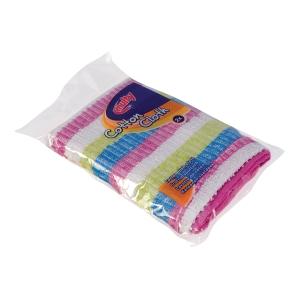 Multi afwasdoek voor handafwas uit katoen 35x35cm - pak van 2