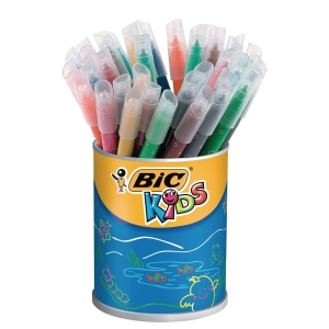 Bic Kids Couleur kleurstiften assorti - pot van 36