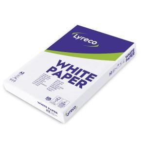 Lyreco wit papier FSC A3 80g - 1 doos = 5 pakken van 500 vellen