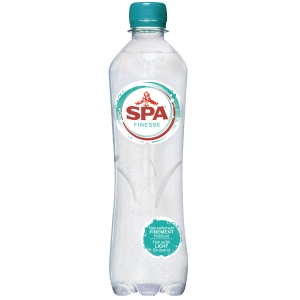 Spa Finesse light sparkling water bottle 50cl - pack of 24