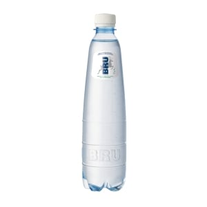 Bru light sparkling water bottle 50cl - pack of 24