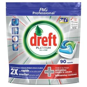 Dreft Professional Platinum dishwasher tablets - pack of 90
