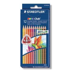 Staedtler Noris Club 127 driekantige potloden - pak van 12