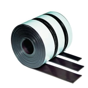 Legamaster magneetband 12,5 mm x 3 m bruin