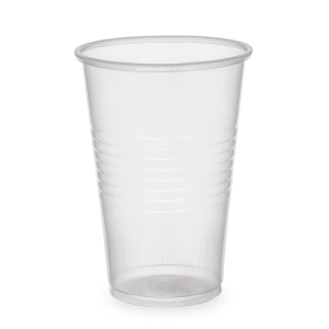 Plastic cup 20 cl transparant - pack of 100