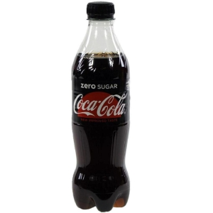 Coca Cola Zero bottle 50cl - pack of 24