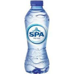Spa mineral water bottle of 33cl - pack of 24