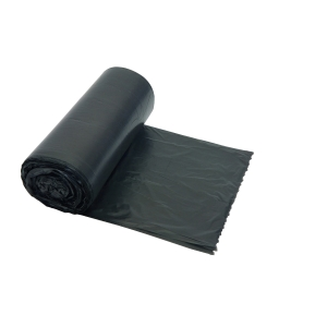 Garbage bags HDPE 20 microns 60x80cm, grey - roll of 20