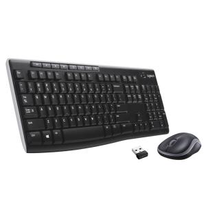 Logitech MK270 muis en toetsenbord - qwerty