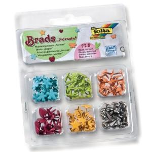 Splitpennen gekleurd vorm assorti - doos van 120
