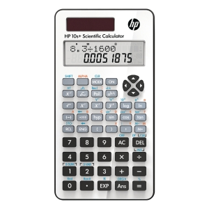HP 10S+ scientific calculator - 2 linesx10 characters