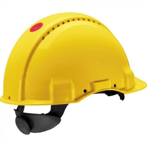 3M G3000 Nuv-Vi veiligheidshelm geel