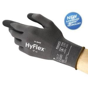 Ansell Hyflex 11-840 snijbestendige handschoenen - maat 9 - pak van 12 paar