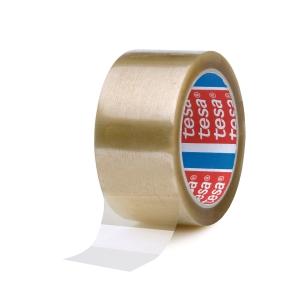 Tesa 4089 PP verpakkingstape 50 mm x 66 m transparant - pak van 6