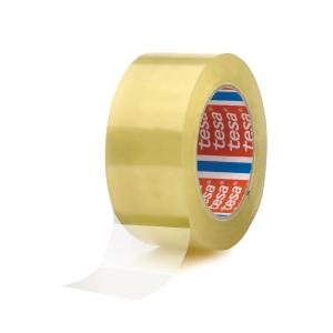 Tesa 4280 PP verpakkingstape 50 mm x 66 m transparant - pak van 6