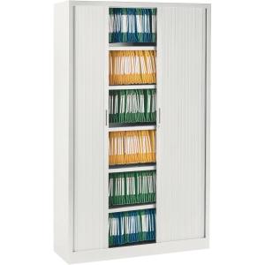 Ariv cupboard 4 shelves 120x198x43 cm white