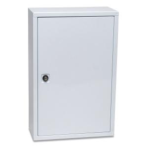 EHBO-kast met sleutel, wit, per stuk