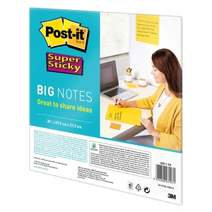 Post-it® Super Sticky Big Notes 27,9 x 27,9 cm yellow