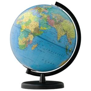 Wereldbol diameter 26 cm met illustraties FR