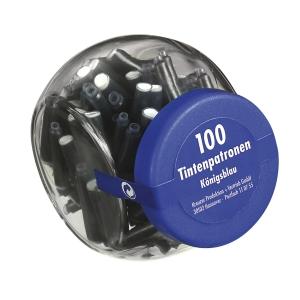 Pelikan TP/6 vullingen blauw - doos van 100