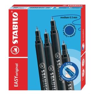 Stabilo move easy vulling blauw 0,5 mm - doos van 20