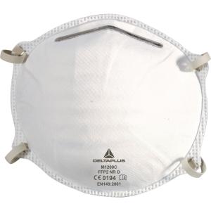 Delta Plus M1200C wegwerp mondmaskers FFP2 zonder ventiel - doos van 20