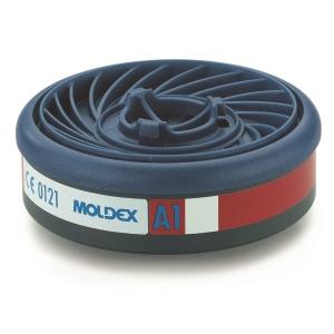 Moldex Easylock 9100 gasfilter voor de series 7000 en 9000, A1, pak van 10