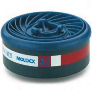 Moldex Easylock 9200 gasfilter voor de series 7000 en 9000, A2, pak van 8