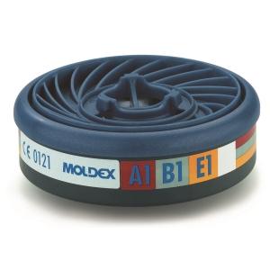 Moldex Easylock 9300 gasfilter voor de series 7000 en 9000, ABE1, pak van 10