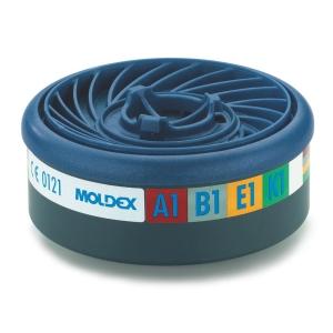 Moldex Easylock 9400 gasfilter A1B1E1K1 voor 7000/9000 serie - pak van 10 stuks