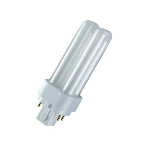 OSRAM CFL-NI lamp G24Q-2 DULUX D/E 18W 830 Warmwit-1200 lm-20000H-HF ballast