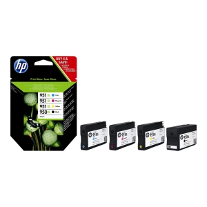 HP C2P43AE inkjet cartridge nr.950XL/951XL zwart/kleur HC [2.300+1.500 pagina s]