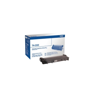 Brother TN-2320 laser cartridge black high capacity [2.600 pages]
