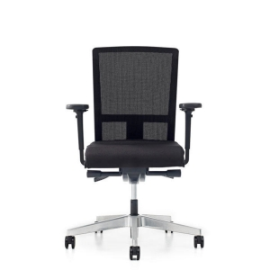Prosedia Se7en Flex bureaustoel met synchroon contact harde wielen - mesh