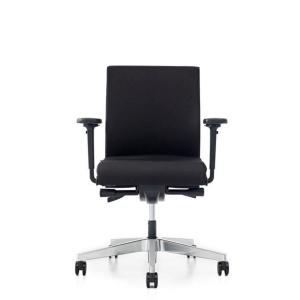 Prosedia Se7en Flex bureaustoel met synchroon contact harde wielen - stof