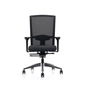 Prosedia Se7en Flex bureaustoel synchroon contact wielen harde ondergrond - mesh