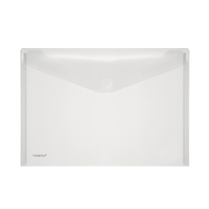 A4 FolderSys transparant PP Envelopes transparant Pack of 10