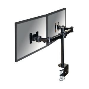 Newstar FPMA-D960D monitorarm voor 2 flatscreens zwart