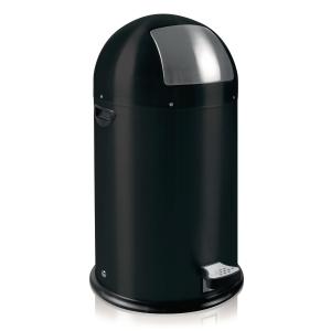 Kickcan waste bin 33l black
