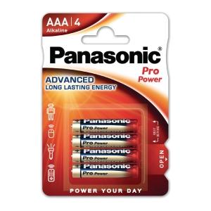Panasonic AAA pro power alka battery -pack of 4