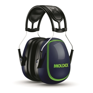 Moldex M-serie M5 oorkappen, SNR 34 dB, blauw/groen