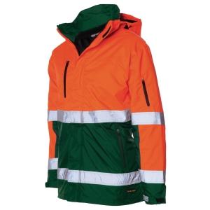 Tricorp TPE3001 hi-viz parka, fluo oranje/groen, maat XXL, per stuk