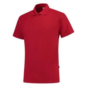Tricorp PP180 polo met korte mouwen voor heren, rood, maat XL, per stuk