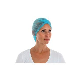 CMT 130014 wegwerp haarkapje polypropyleen 50cm blue - pak van 100 stuks