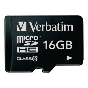 Verbatim micro SDHC kaart 16GB